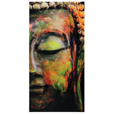 Buddha - Free Floating Tempered Glass Wall Art