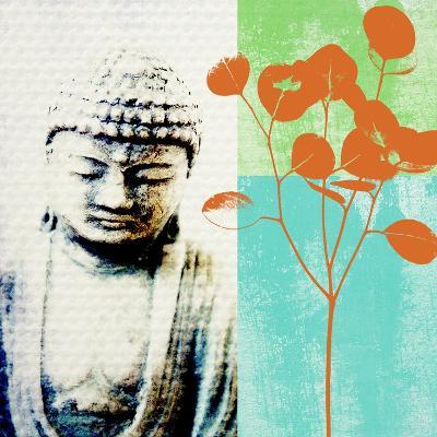 Buddha II-Linda Woods-Art Print