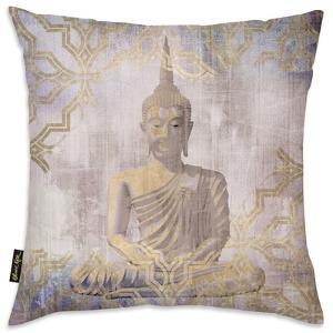 Buddha In Peace Throw Pillow