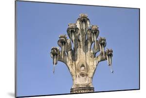 Buddha Meditating under the Protection of a Seven-Headed Naga Snake