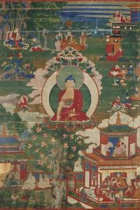 Buddha Shakyamuni and Narrative Scenes