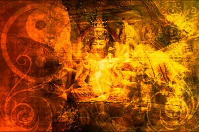 Buddha-kentoh-Art Print