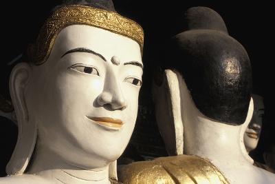 Buddhas at Shwedagon Paya, Close Up-Design Pics Inc-Photographic Print