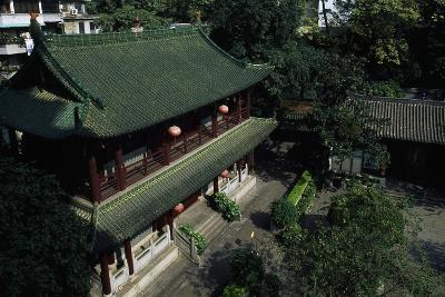 Buddhist Temple of the Six Banyan Trees--Giclee Print