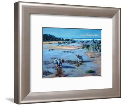 Buddies on the Beach-Tilly Willis-Framed Giclee Print