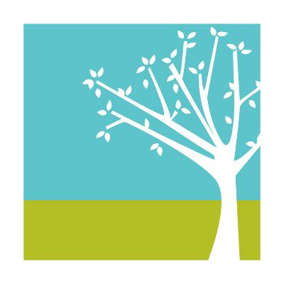 Budding Tree--Art Print
