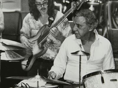 Buddy Rich and Dave Carpenter Playing at the Royal Festival Hall, London, June 1985-Denis Williams-Photographic Print