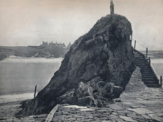 'Bude - The Chapel Rock', 1895-Unknown-Photographic Print