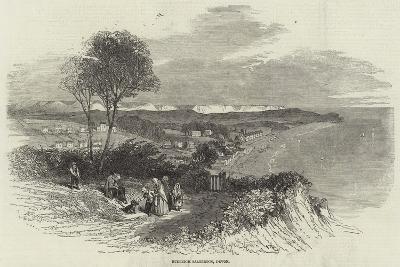 Budleigh Salterton, Devon--Giclee Print