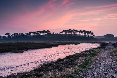 Budleigh Salterton Estuary at Sunrise, South Devon Natural Reserve, UK-Marcin Jucha-Photographic Print