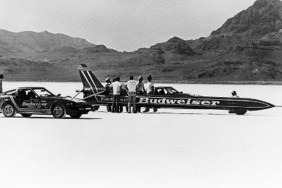 Budweiser Rocket, USA, 1979--Photographic Print