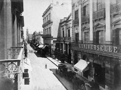 Buenos Aires Streetscene--Photographic Print