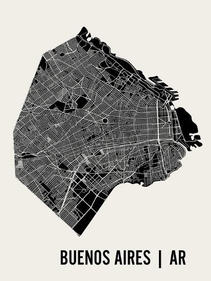 Buenos Aires-Mr City Printing-Art Print