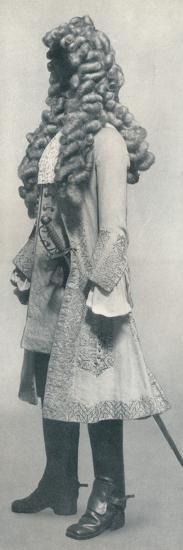 Buff coat embroidered with silver, c1666 (1928)-Unknown-Photographic Print