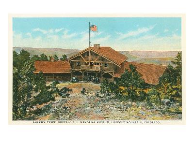 Buffalo Bill Memorial Museum, Lookout Mountain, Colorado--Art Print