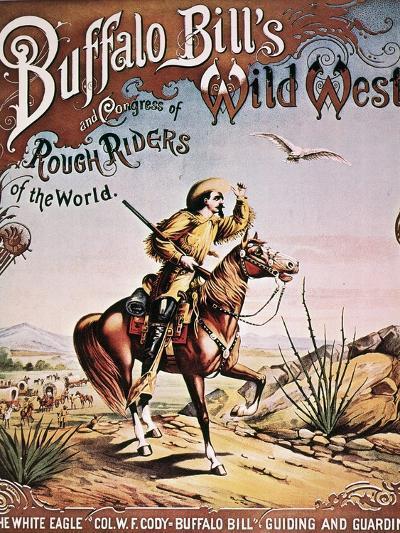Buffalo Bill: Poster, 1893--Giclee Print