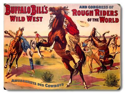 Buffalo Bill's Amusements Des Cowboys
