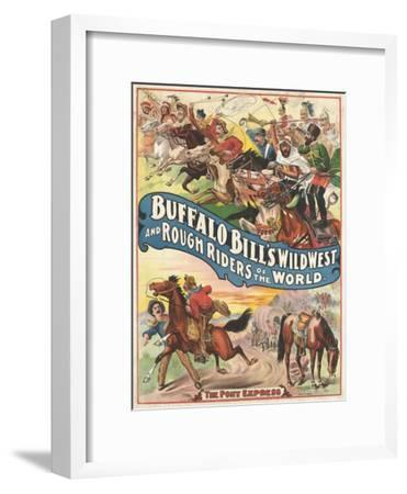 Buffalo Bill's wild west and rough riders
