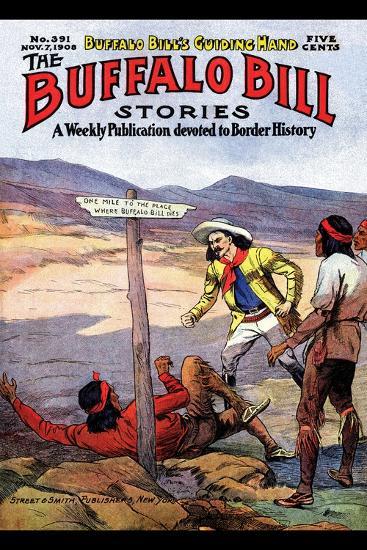 Buffalo Bill Stories- Street & Smith-Art Print