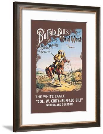 Buffalo Bill: The White Eagle--Framed Art Print