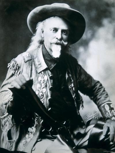 Buffalo Bill--Photographic Print