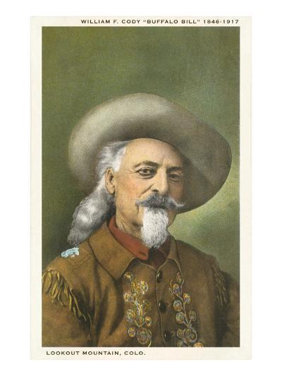 Buffalo Bill--Art Print