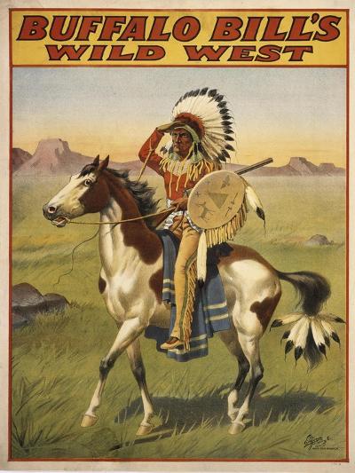 Buffalo Bills Wild West IV--Giclee Print