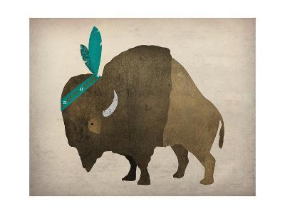 Buffalo Bison III-Ryan Fowler-Art Print