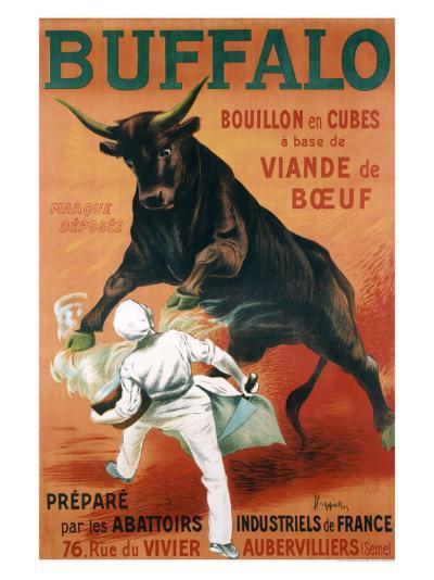Buffalo Bouillon-Leonetto Cappiello-Giclee Print
