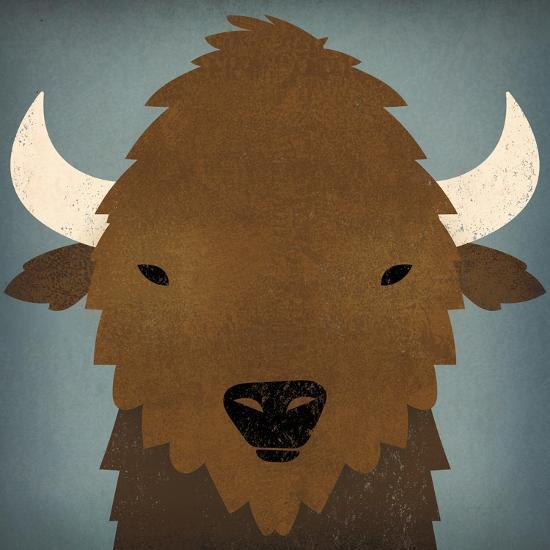 Buffalo II-Ryan Fowler-Art Print
