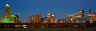 Buffalo, Skyline at Dusk, New York
