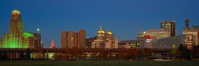 Buffalo, Skyline at Dusk, New York--Photographic Print