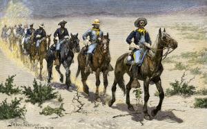 Buffalo Soldiers in the Arizona Desert