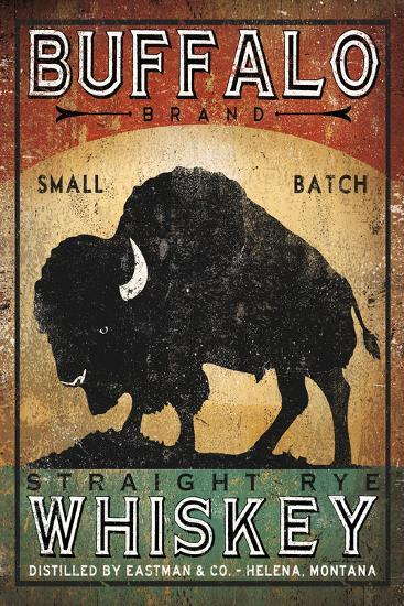 Buffalo Whiskey-Ryan Fowler-Art Print