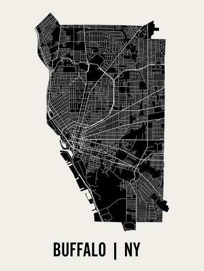 Buffalo-Mr City Printing-Art Print