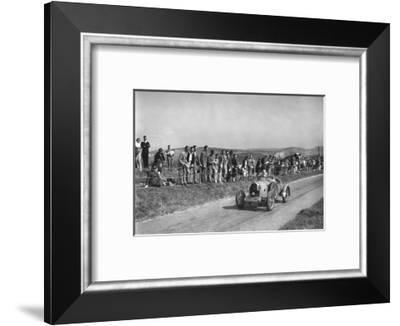 Bugatti Type 23 of LJ Smyth competing at the Bugatti Owners Club Lewes Speed Trials, Sussex, 1937-Bill Brunell-Framed Photographic Print