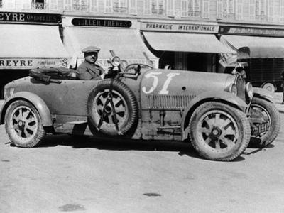Bugatti Type 43, Nice, France, Late 1920s