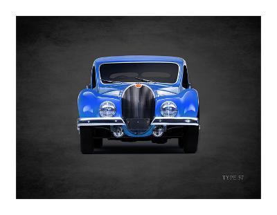 Bugatti Type-57 1936-Mark Rogan-Giclee Print
