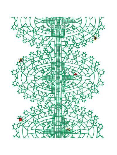 Bugs in Lace-Jorey Hurley-Premium Giclee Print