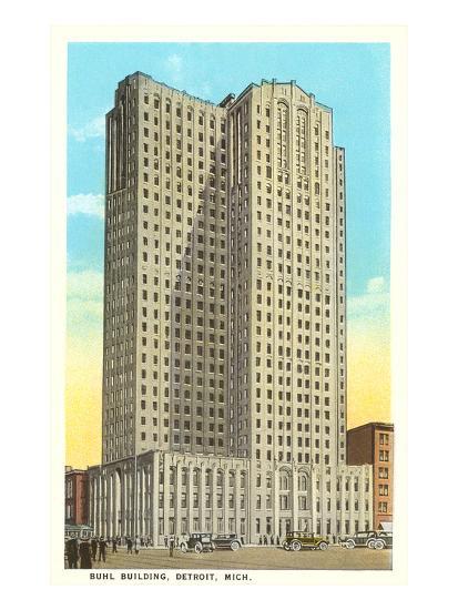 Buhl Building, Detroit, Michigan--Art Print
