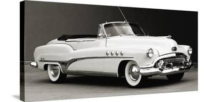 Buick Roadmaster Convertible-Gasoline Images-Stretched Canvas Print