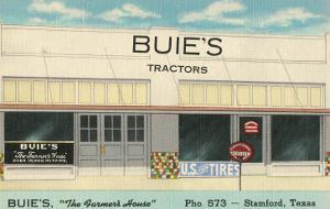 Buie's Tractors, Stamford, Texas