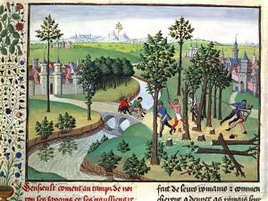 Building a Road, 15th Century