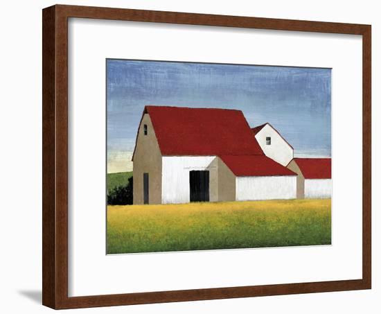 Building Block - Barn-Mark Chandon-Framed Giclee Print