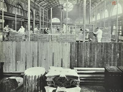 Building Class, School of Building, Brixton, London, 1911--Photographic Print
