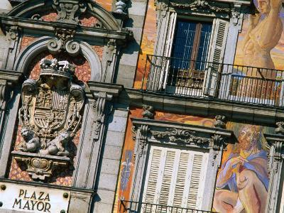 Building Facades in Plaza Mayor, Madrid, Comunidad De Madrid, Spain-Christopher Groenhout-Photographic Print
