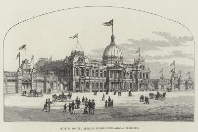 Building for the Adelaide Jubilee International Exhibition-Frank Watkins-Giclee Print