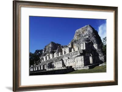 Building in the Archaeological Site of Becan, Campeche, Mexico--Framed Giclee Print