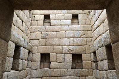 Building Interior, Machu Picchu, Peru-Matthew Oldfield-Photographic Print