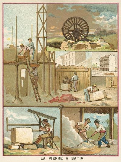 Building Stone--Giclee Print
